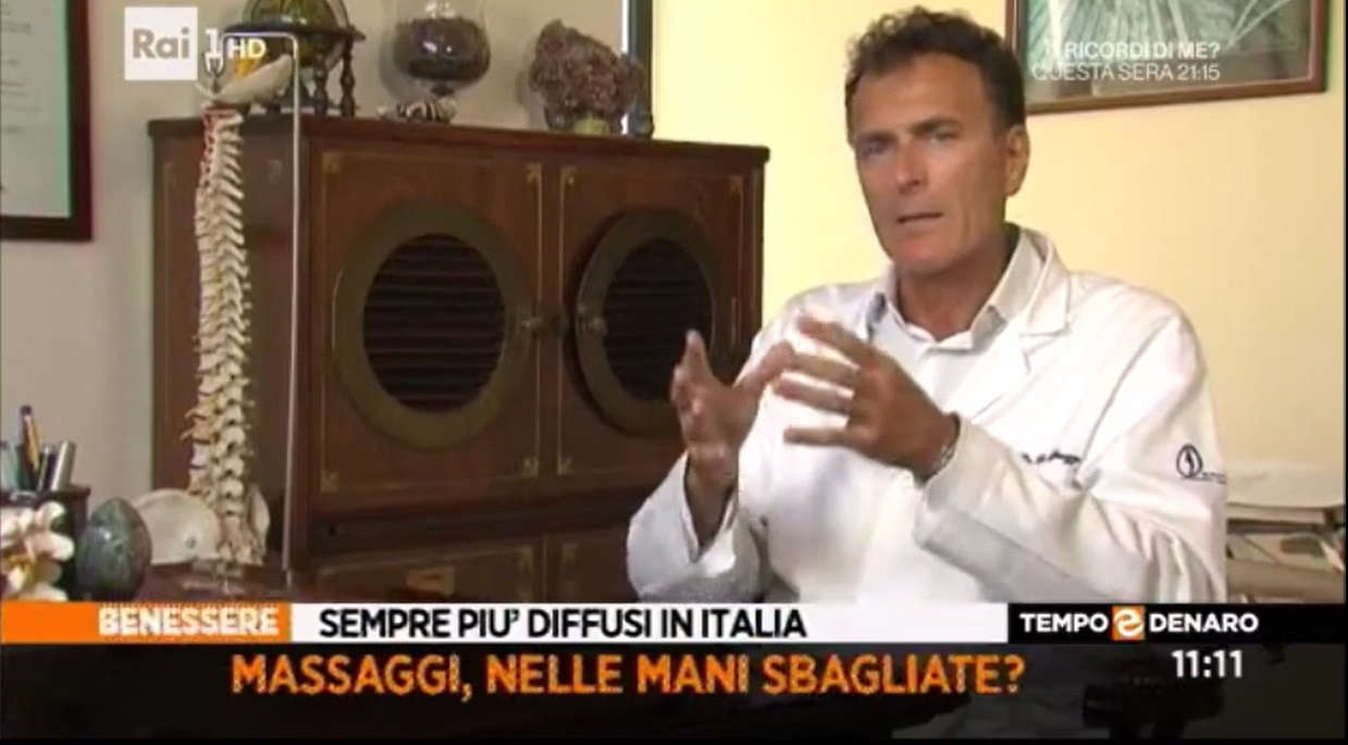 Il Prof.Apuzzo ospite di Elisa Isoardi a Tempo&Denaro su Rai Uno del 28.09.2016
